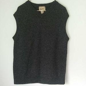 Vtg Mens Woolrich Outdoor 100% wool vest sz L